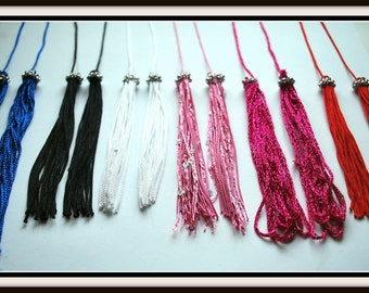 Replacement Tassels.....Burlesque Style Easy Spin Jeweled Twirl Tassels for Pasties