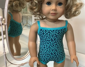 American Made Swimsuit made to fit 18 inch dolls such as American Girl