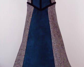 Eco-friendly Medieval Princess Dress size 130-140 (8-10 yo)