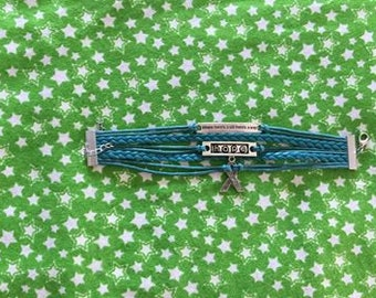 Hope Bracelet ... represents Ovarian Cancer