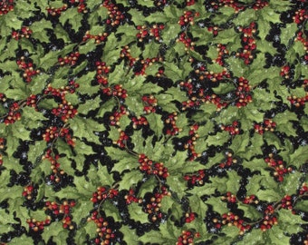 Packed Holly Holiday Fabric From Springs Creative