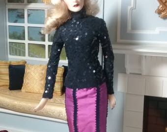 "Evening Separates from Katz Meow fits Jamieshow or any slender 16"" Fashion Dolls"