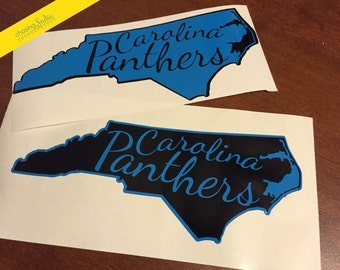 Carolina Panthers NC State Decal - Free Shipping
