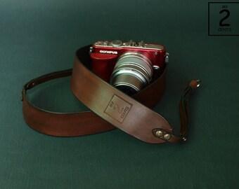 Camera strap, Personalized DSLR leather camera strap,  Canon camera strap, Nikon camera strap, Olympus camera strap,  Leica camera strap
