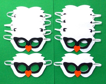 Swan Masks - Party Pack - 10 Masks - Kid's Mask - Swan - Mask - Dress Up - Play - Costume - Party Favor - Dress Up - Halloween - Swan Pack