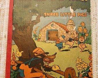 Children's Book, Who's Afraid of the Big Bad Wold, Three Little Pigs