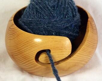 Handmade Osage Orange Wooden Yarn Bowl