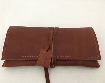 Leather Pouch/Wallet