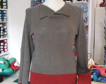 Linen yarn Sweater