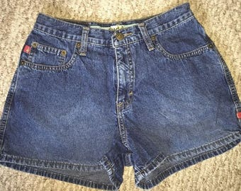 Vintage Mudd Women's Mom Jean Shorts Size 5 High Waisted