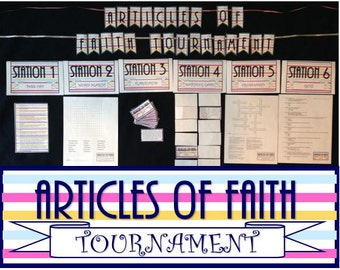 Articles of Faith Tournament - 6 Stations!