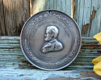 1863 Major General Ulysses S Grant Peace Medal