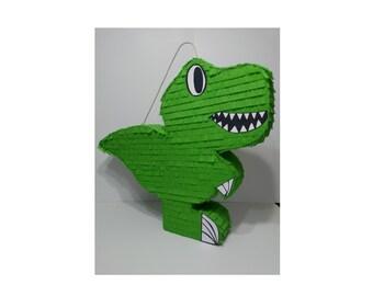 Dinosaur Rex Party Theme Piñata Dino