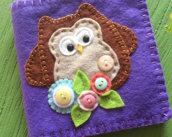 Owl needle book