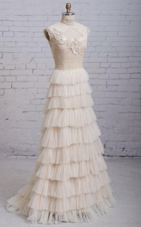 Steampunk Hochzeitskleid viktorianischen Brautkleid Vintage
