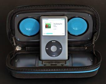 Sonic Impact Apple iPod Speaker Dock Portable Stereo Speakers MiNTY !