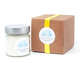 May Chang Aromatherapy Soy Candle (Citrus)