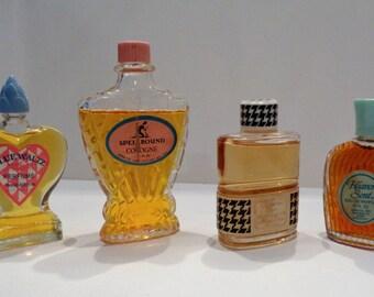 Vintage Perfume Spell Bound Blue Waltz Heaven Scent Christian Dior