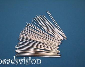 headpins 100 silver colour 30/40/50/70mm