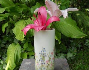 Vintage Takahashi San Francisco Iris Vase, Bud Vase, Flowers, Ceramic