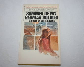 Vintage Paperback Book, Summer of My German Solider, by Bette Greene, 1976