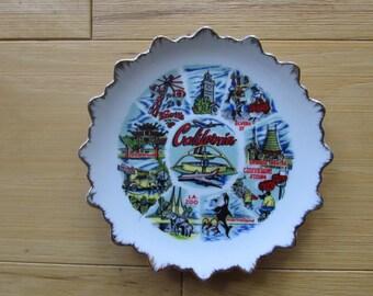 California Souvenir Plate Collectable