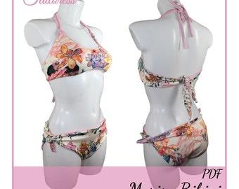 Marisa Bikini PDF Sewing Pattern Bikini Pdf Sewing Patterns Sewing Pattern Swim Suit Sewing Pattern Swimsuit Pdf Pattern Bikini PDF Sewing