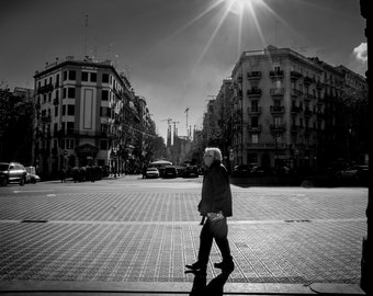 Street photography, taken in Barcelona