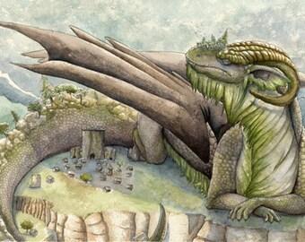 Dragon - print