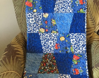 New 2018, Quilt, baby quilt, handmade quilt, ready to ship, made in Hawaii, Hawaiian, baby blanket, shower gift, lap quilt, Cotton quilt