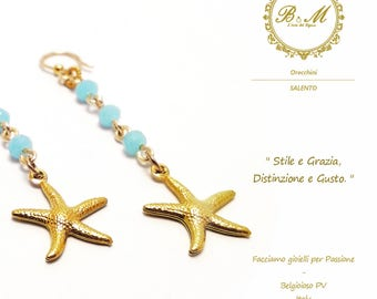 Earrings Star Marina Biemme