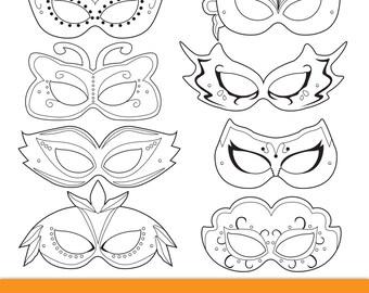 Masquerade Masks, masquerade mask, printable masquerade mask, masquerade costume