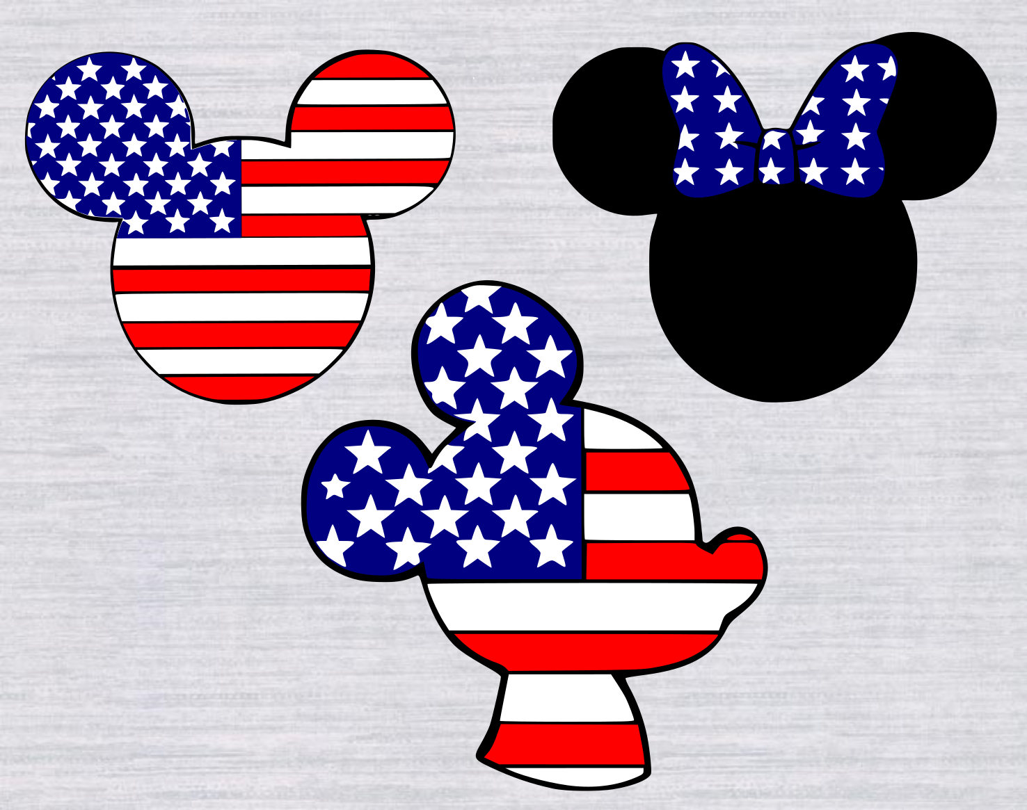 Mickey mouse 4th of july svg bundle minnie mouse 4th of july zoom biocorpaavc