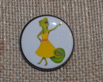 "1"" Custom Design Pin or Magnet"