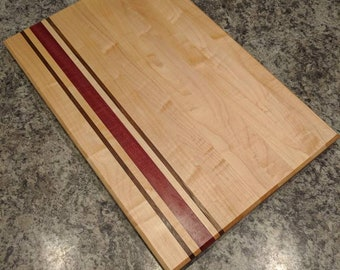 Handmade Maple Long-Grain Cutting  Board