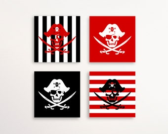 Pirate Party - Cupcake Toppers - Pirate Party Decor