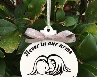 Miscarriage or Infant Loss Christmas Ornament