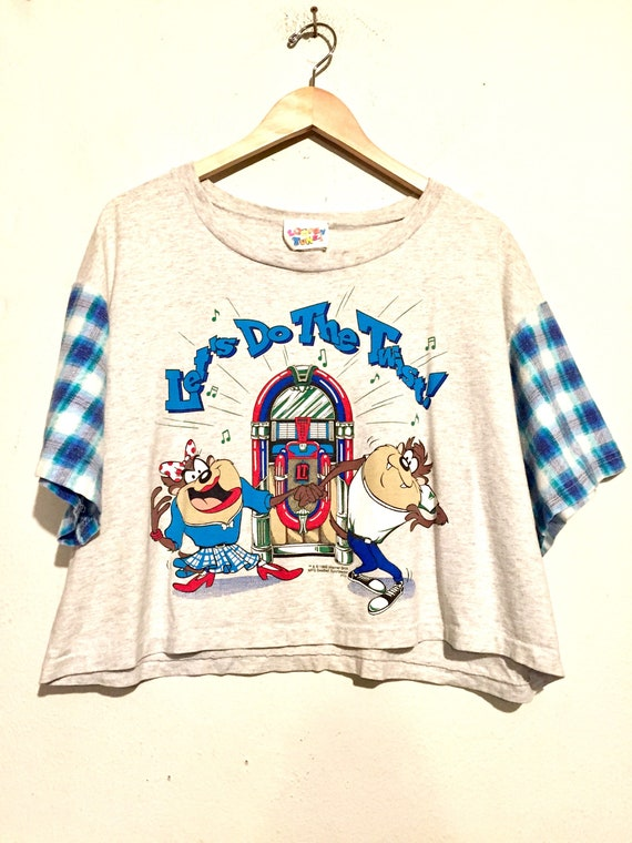 90s Looney Tunes Taz Crop Top