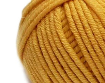 Wool, merino wool organic wool,sheep organic wool, Wool yarn, wool knitting yarn - 50g