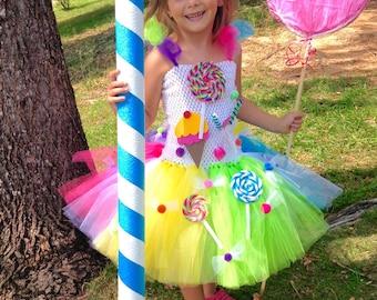 Tutu Sweet Candy Shoppe / Candy Land Halter Tutu