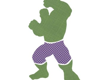The Hulk Silhouette