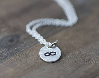 Infinity Necklace Handmade | Sterling Silver Jewelry | Gifts for Friends | Gift for Women | Gift for Girlfriend | Wife Gift