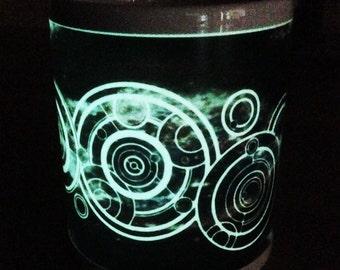 Doctor Who Mug, Your Name in Gallifreyan, Personalised, Super, Glow in the Dark Mug