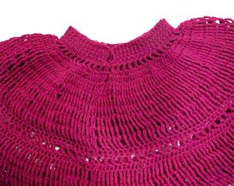 Caprice Poncho - PDF Crochet Pattern - Instant Download