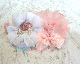 Birthday headband- Princess Pink Carriage Headband, Princess headband,Princess Carriage headband,Girls headband,Birthday gifts,baby girls
