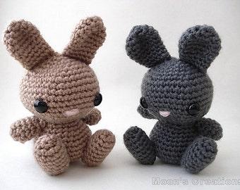 Cute Bunny - Amigurumi Bunny Rabbit Doll - Custom Color Options