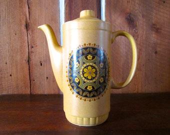 Coffee Pot / 1940\u0027s / SANTA FE English IronstoneTableware Ltd Stoke On Trent & Ironstone tableware | Etsy