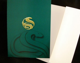 2013 - Year of the Snake - Greeting Card