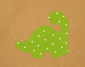 Fait à la main fantaisie Applique Dino - applique infantile, Portage applique, applique, bricolage fait à la main