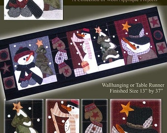 Snowman Parade Pattern